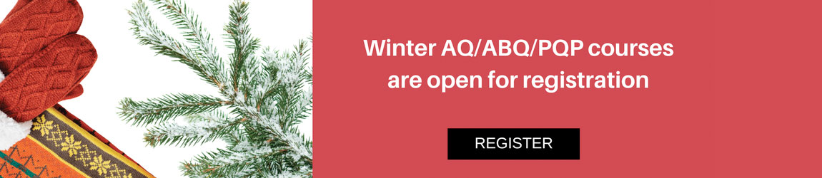 Winter AQ Registration Open